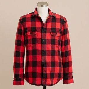 J.Crew Heavyweight Buffalo Check Shirt Jacket